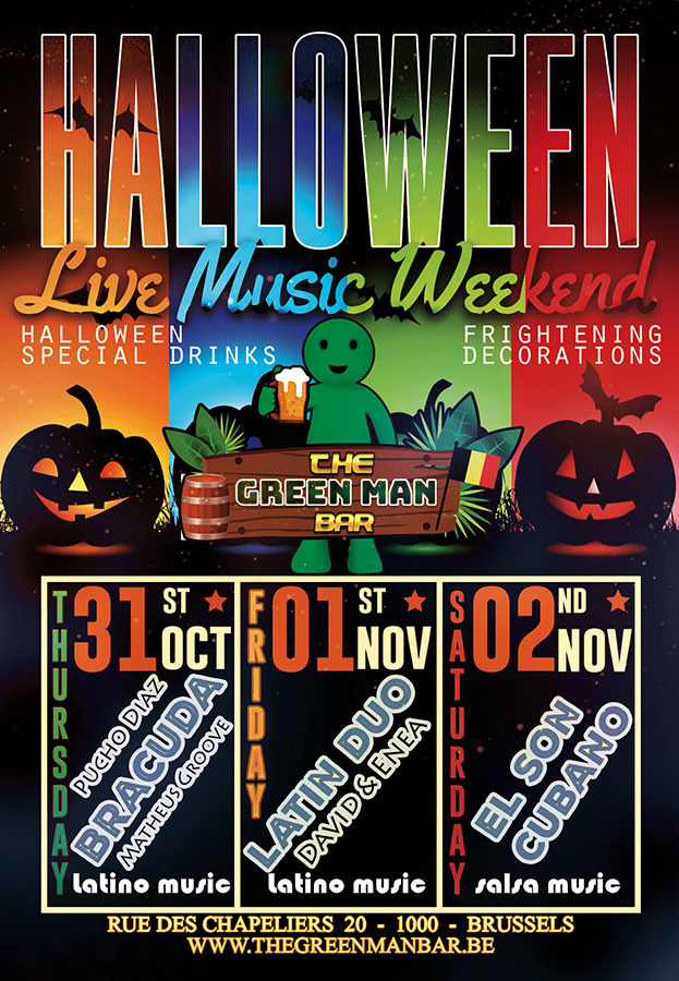Spooky Good Time for Halloween with Live Music near Grand Place