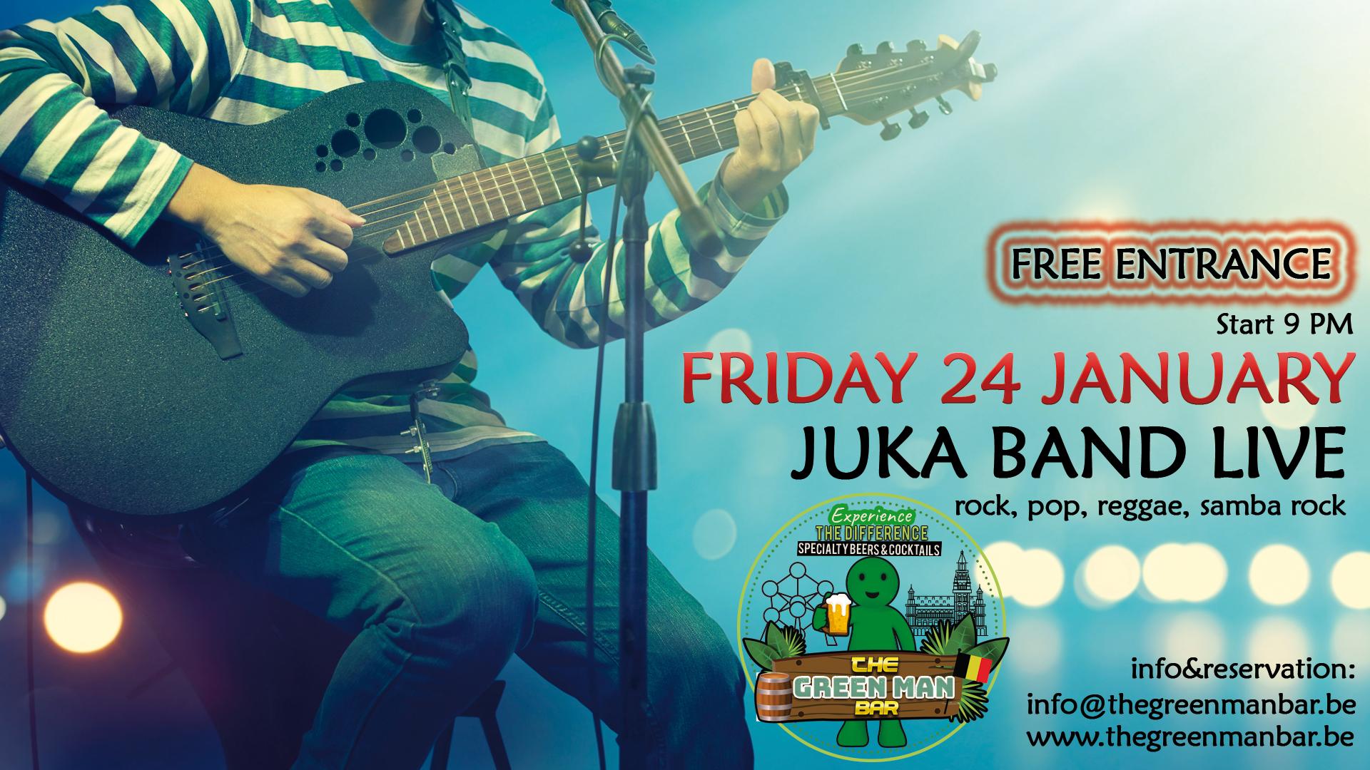 Juka Band live