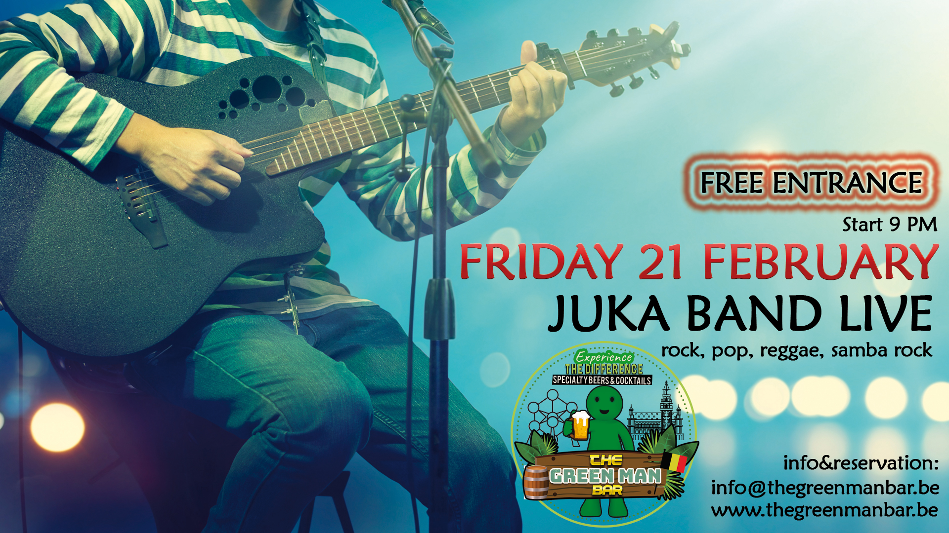 Juka Band live next to the Grance Place